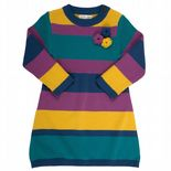 Kite Knitted Rosette Dress